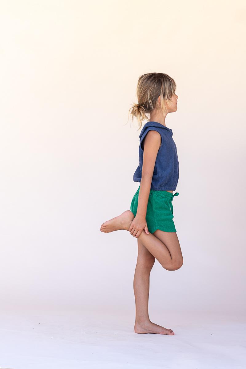 Shorts - Green-2