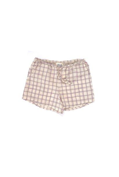 Shorts - Purple Check