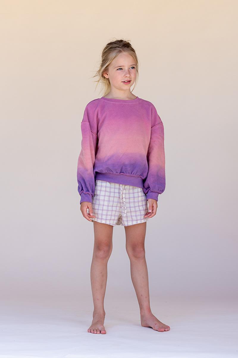 Shorts - Purple Check-2