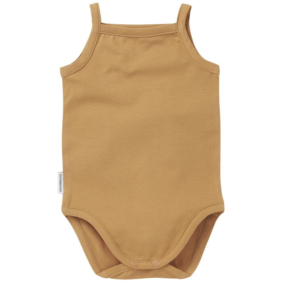 Bodysuit singlet - Light Ochre-1