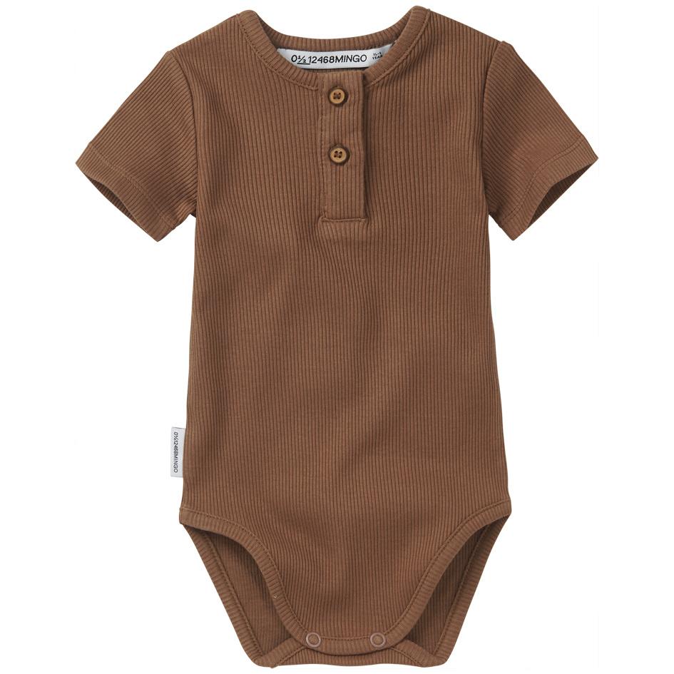 Bodysuit short sleeve - Warm Earth-1