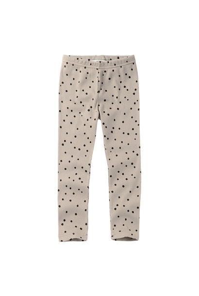 Legging - Dot Black/White