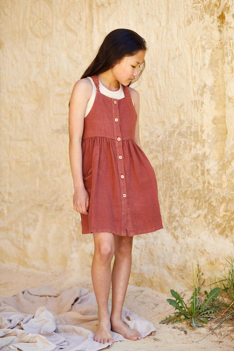 Pinafore dress - Sienna Rose-2
