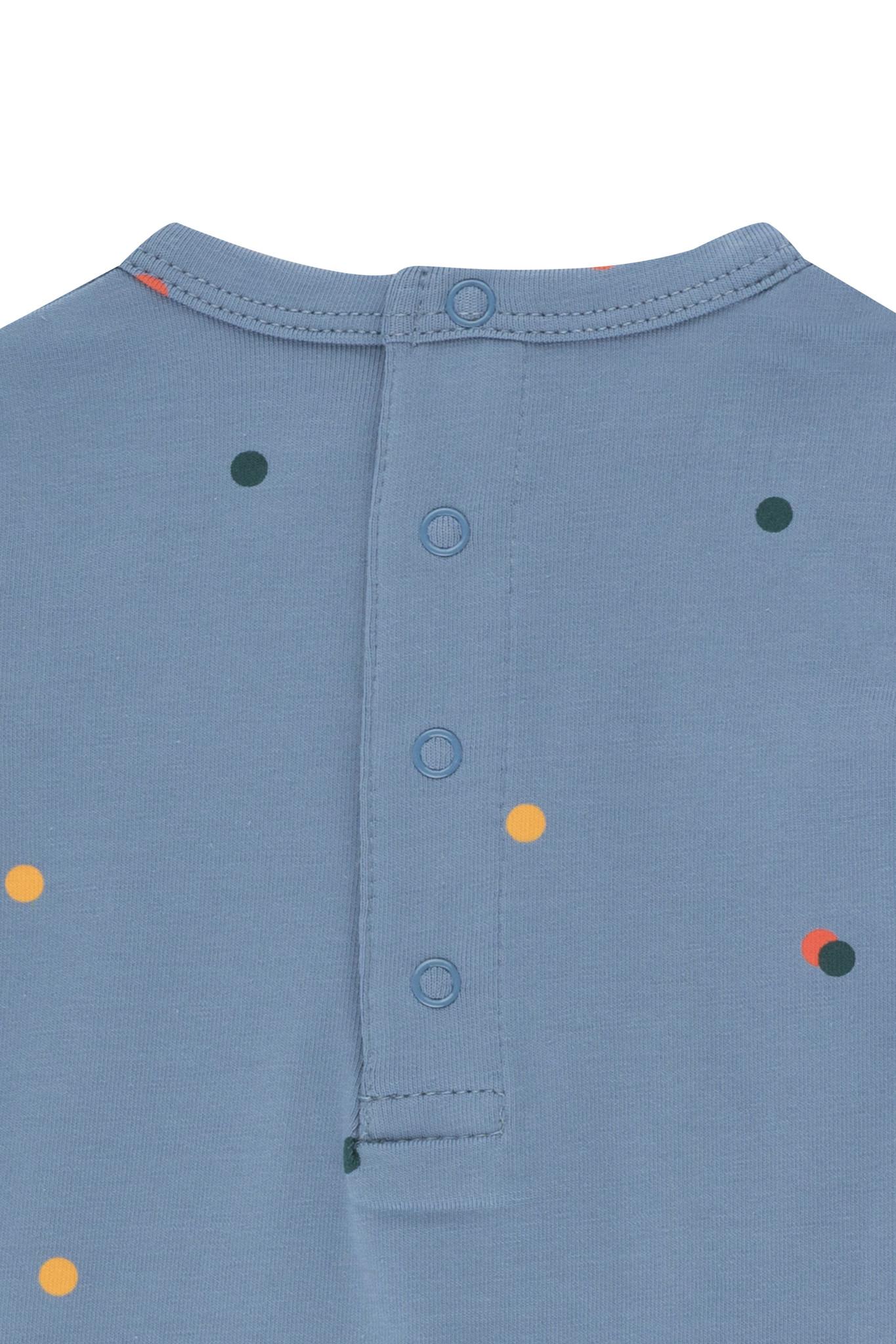 Ice cream dots body - Grey Blue-2