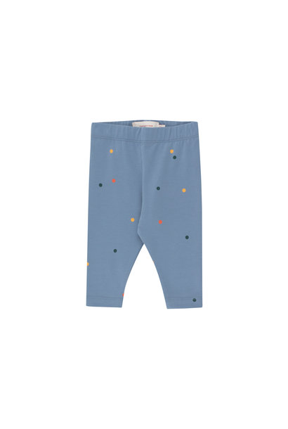 Ice cream dots baby pant - Grey Blue