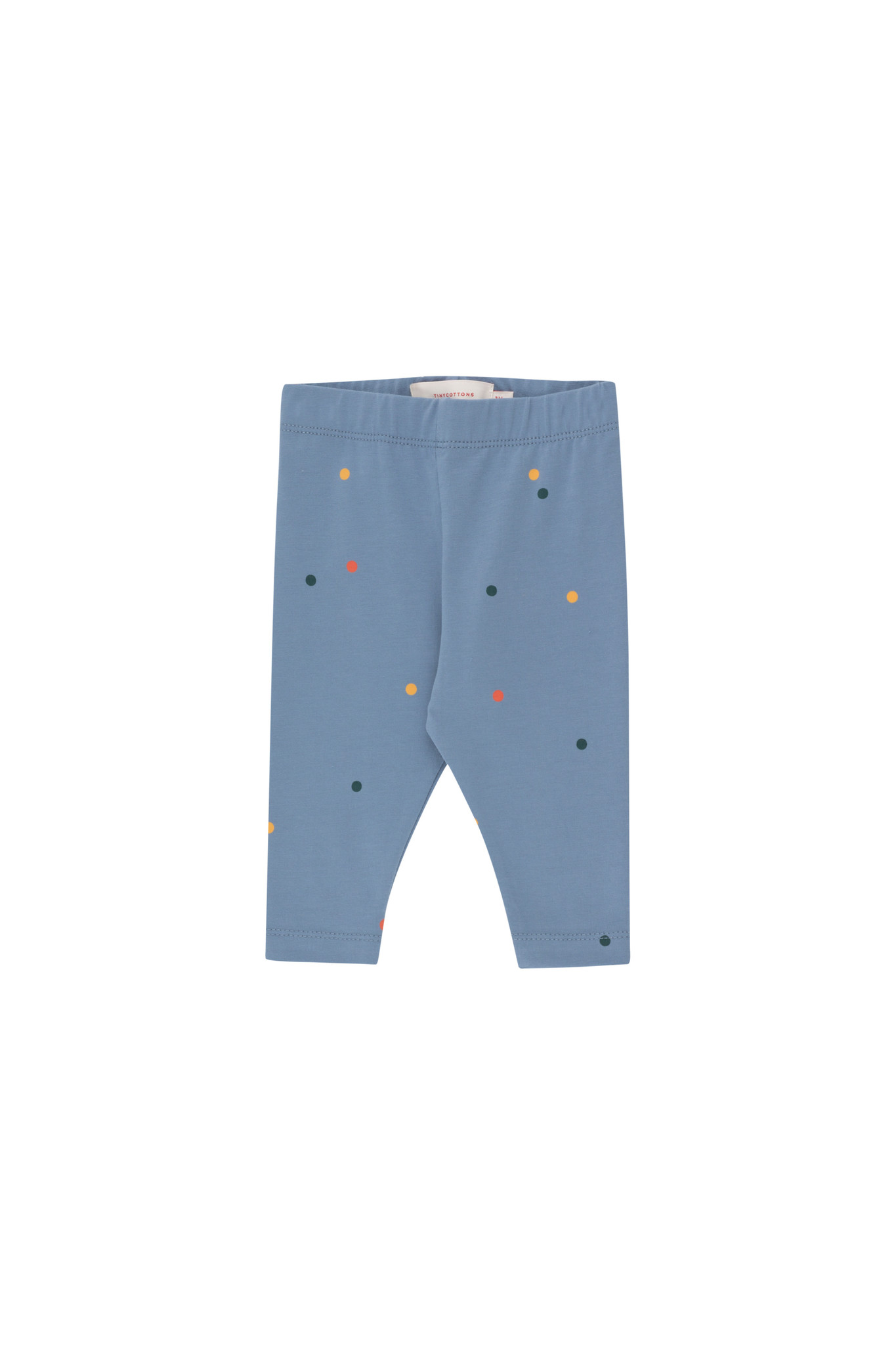 Ice cream dots baby pant - Grey Blue-1