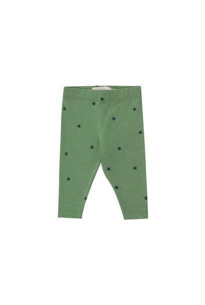 Starfish baby pant - Green / Ink Blue
