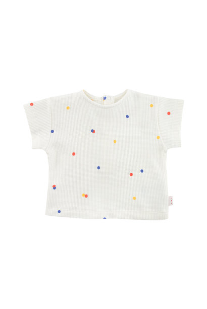 Ice cream dots baby tee - Off White