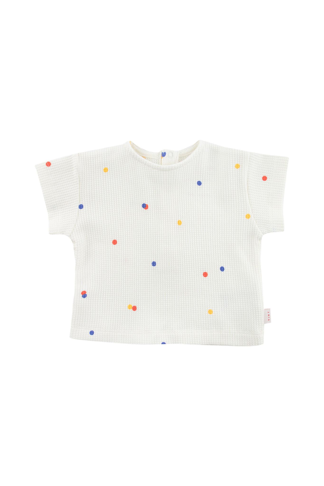 Ice cream dots baby tee - Off White-1