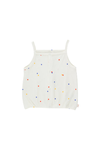 Ice cream dots top - Off White