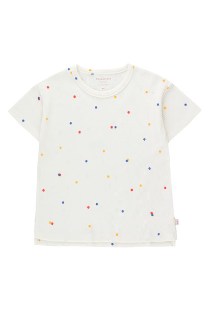 Ice cream dots tee - Off White