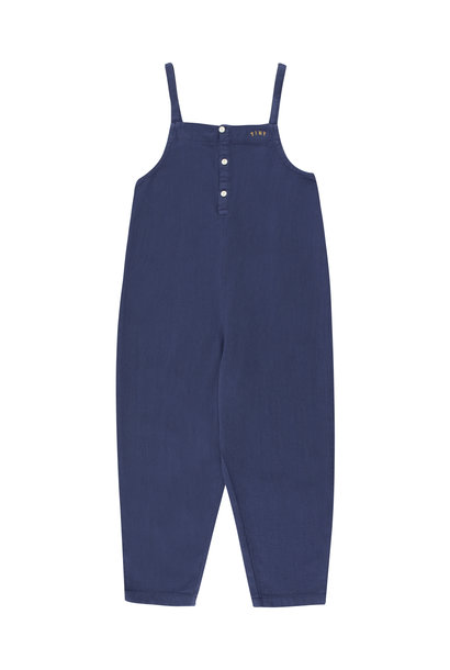 Solid dungaree - Indigo