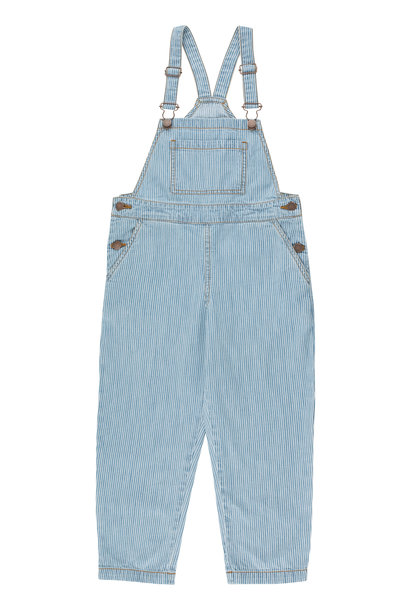 Striped denim dungaree - Stripes Denim