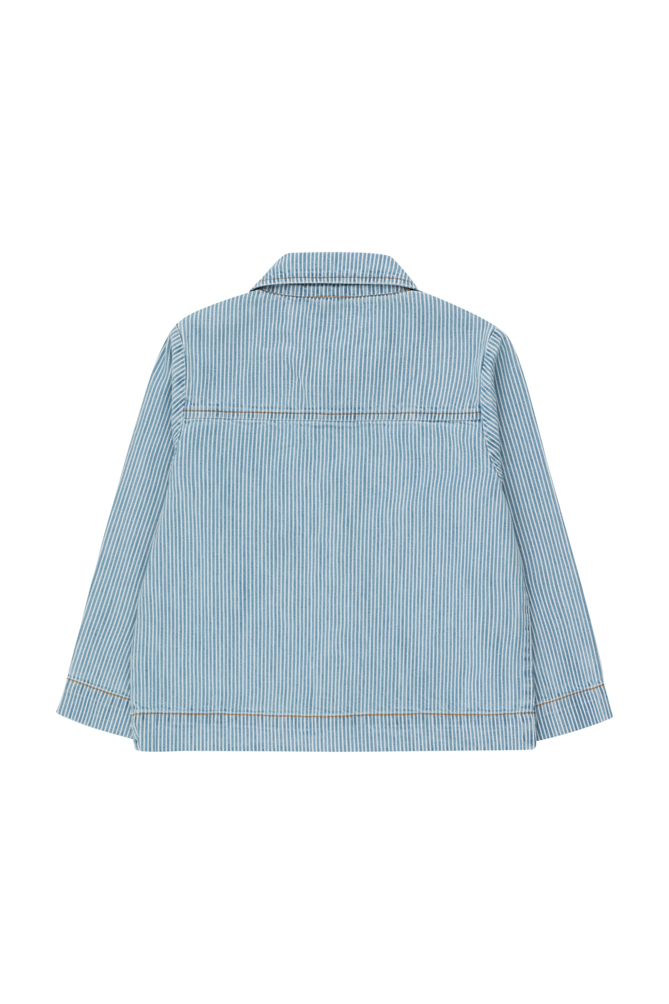 Striped denim jacket - Stripes Denim-3