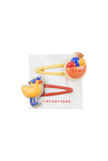 Chiringuito hair clips - Multi