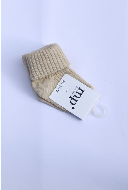 Baby sokken - Ecru