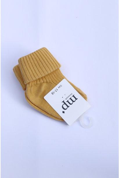 Baby sokken - Ochre