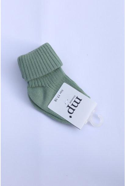 Baby sokken - Granite Green