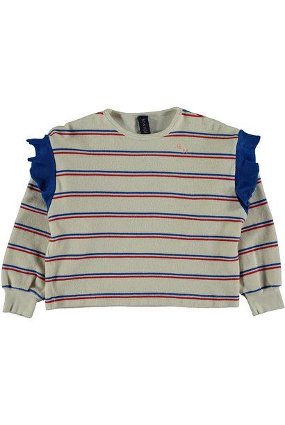 Sweatshirt kid Frill - Ivory