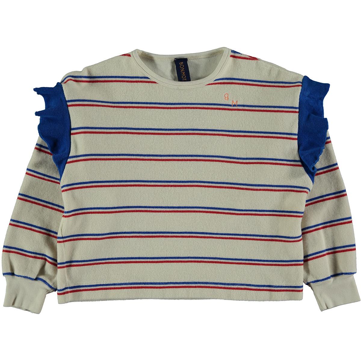 Sweatshirt baby Frill - Ivory-1