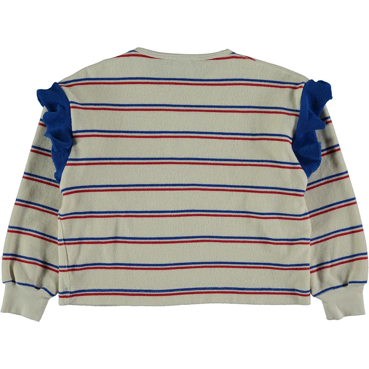 Sweatshirt baby Frill - Ivory-2