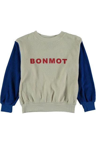 Sweatshirt baby Bonmot - Ivory