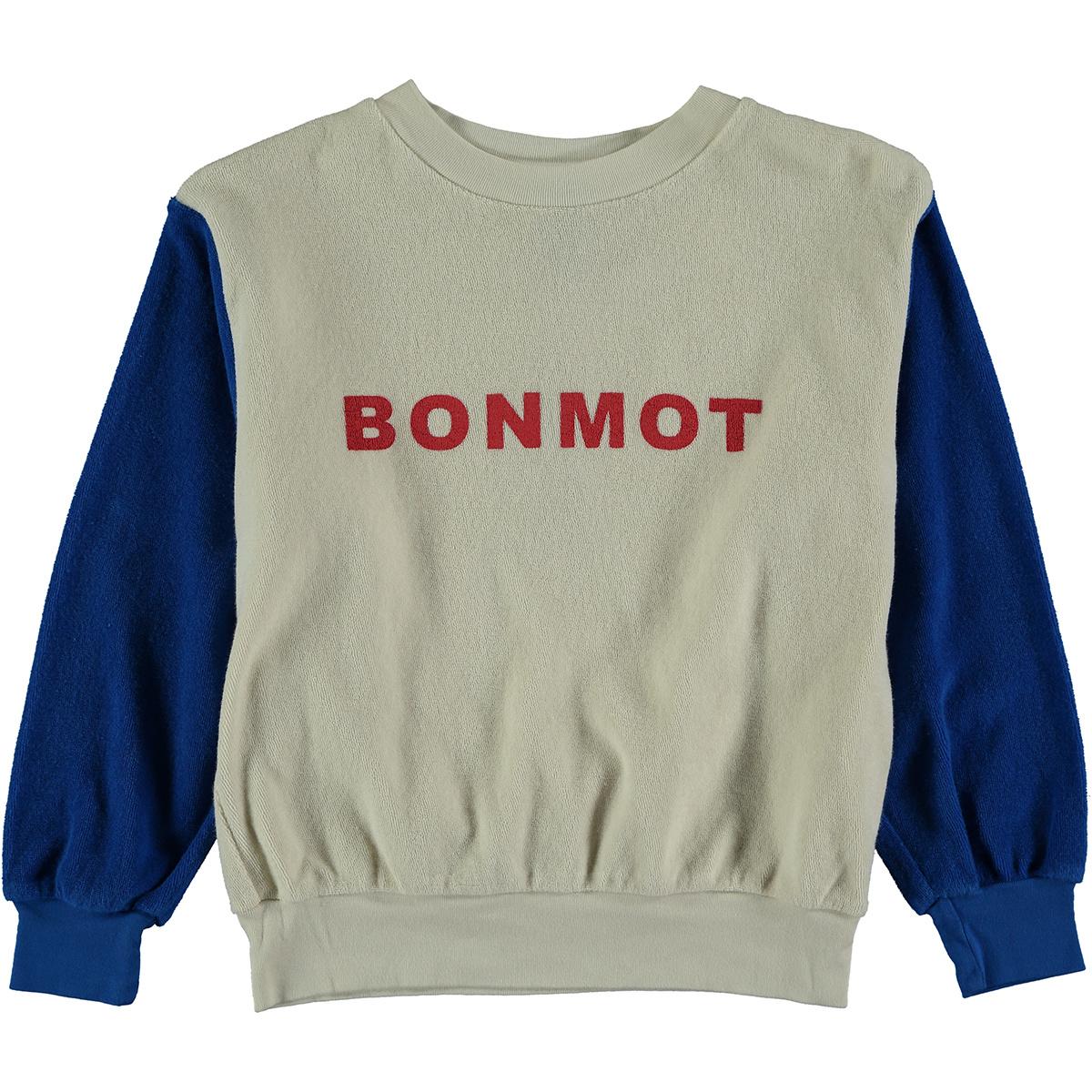 Sweatshirt baby Bonmot - Ivory-1