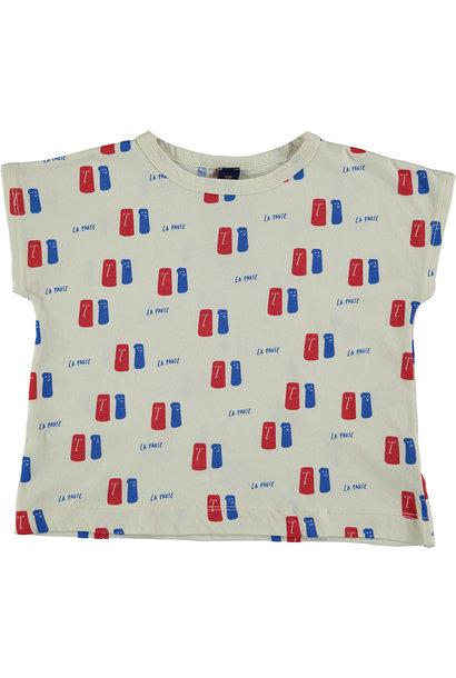T-shirt La Pause - Ivory