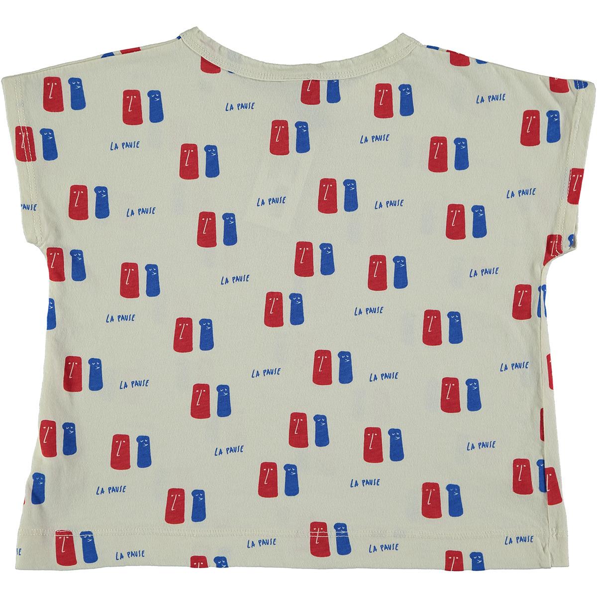 T-shirt La Pause - Ivory-3