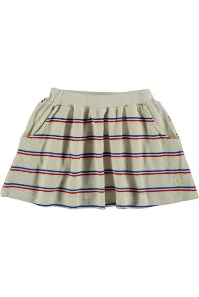 Skirt Stripe - Ivory
