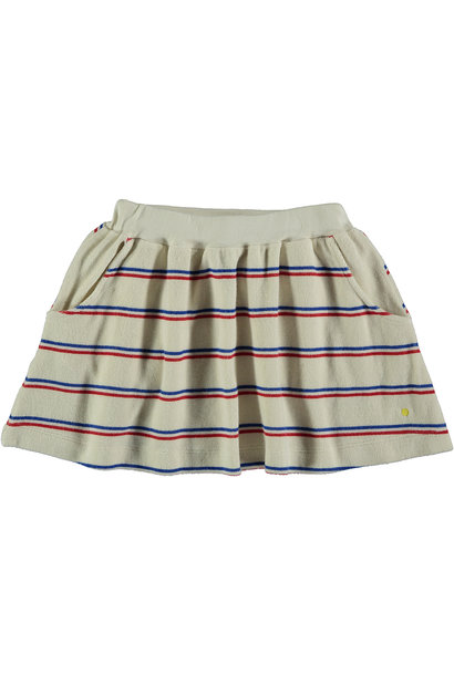 Skirt baby Stripe - Ivory
