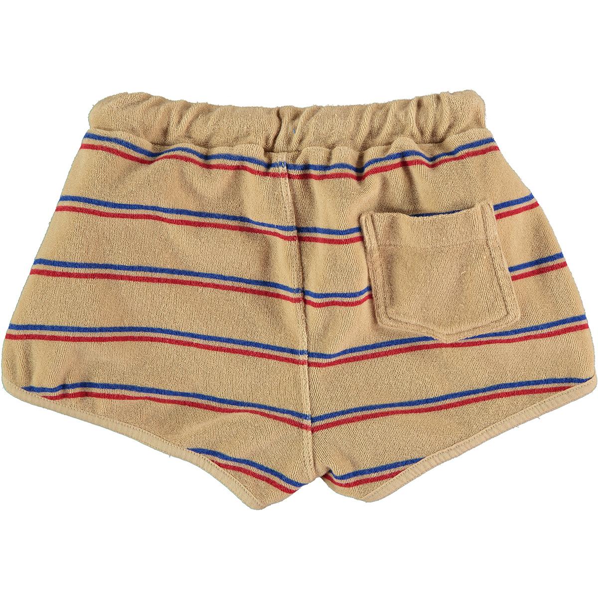 Short baby Stripes - Beige-2