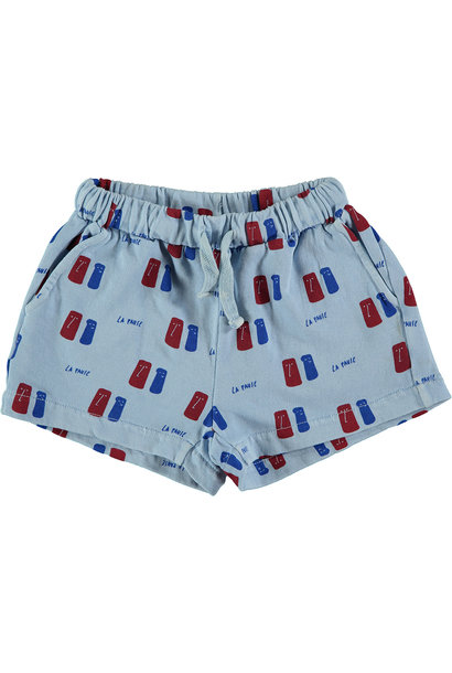 Short kid La Pause - Light Blue