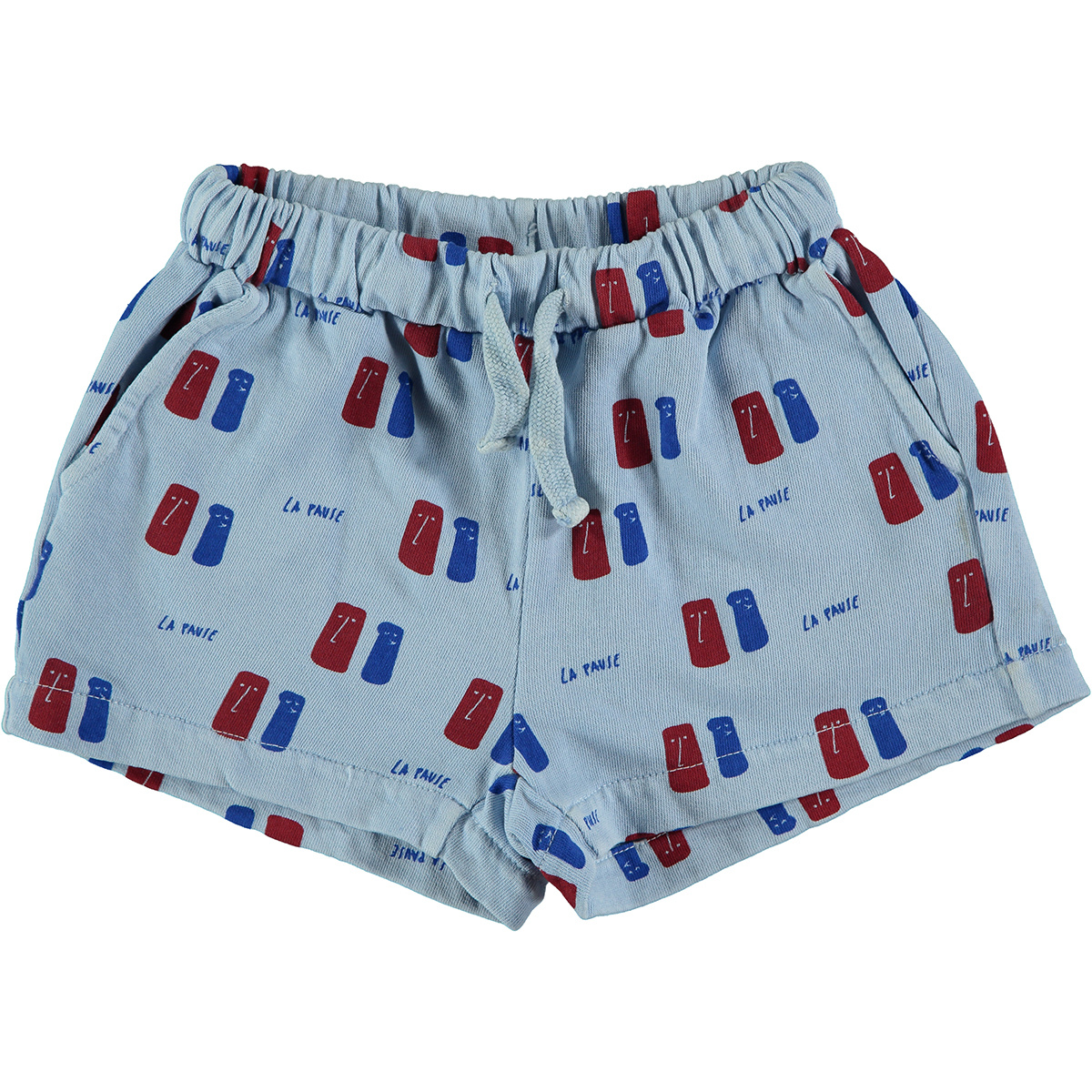Short kid La Pause - Light Blue-1