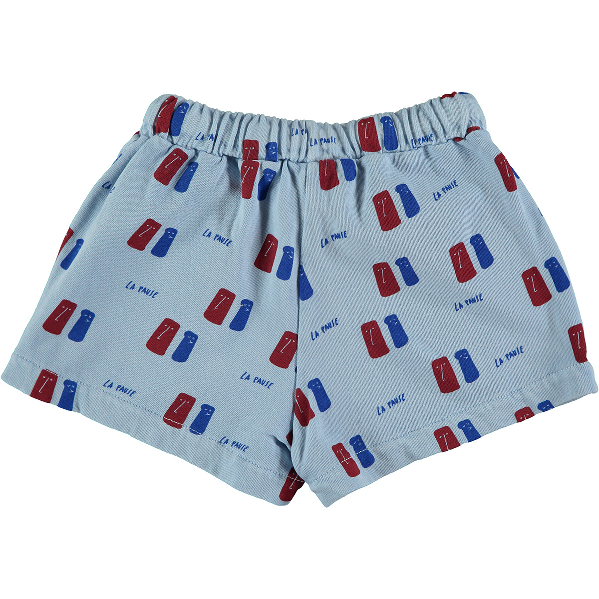 Short kid La Pause - Light Blue-2