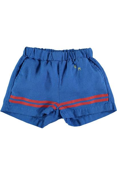 Short baby stripes - Fresh Blue