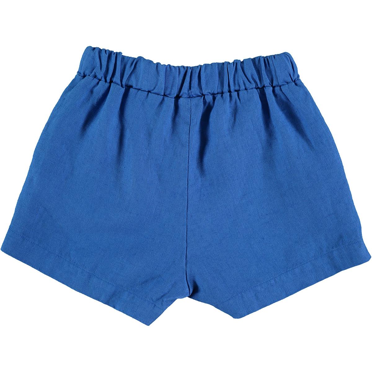 Short baby stripes - Fresh Blue-2