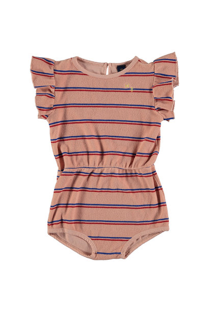 Playsuit kid Frill - Dusty Pink