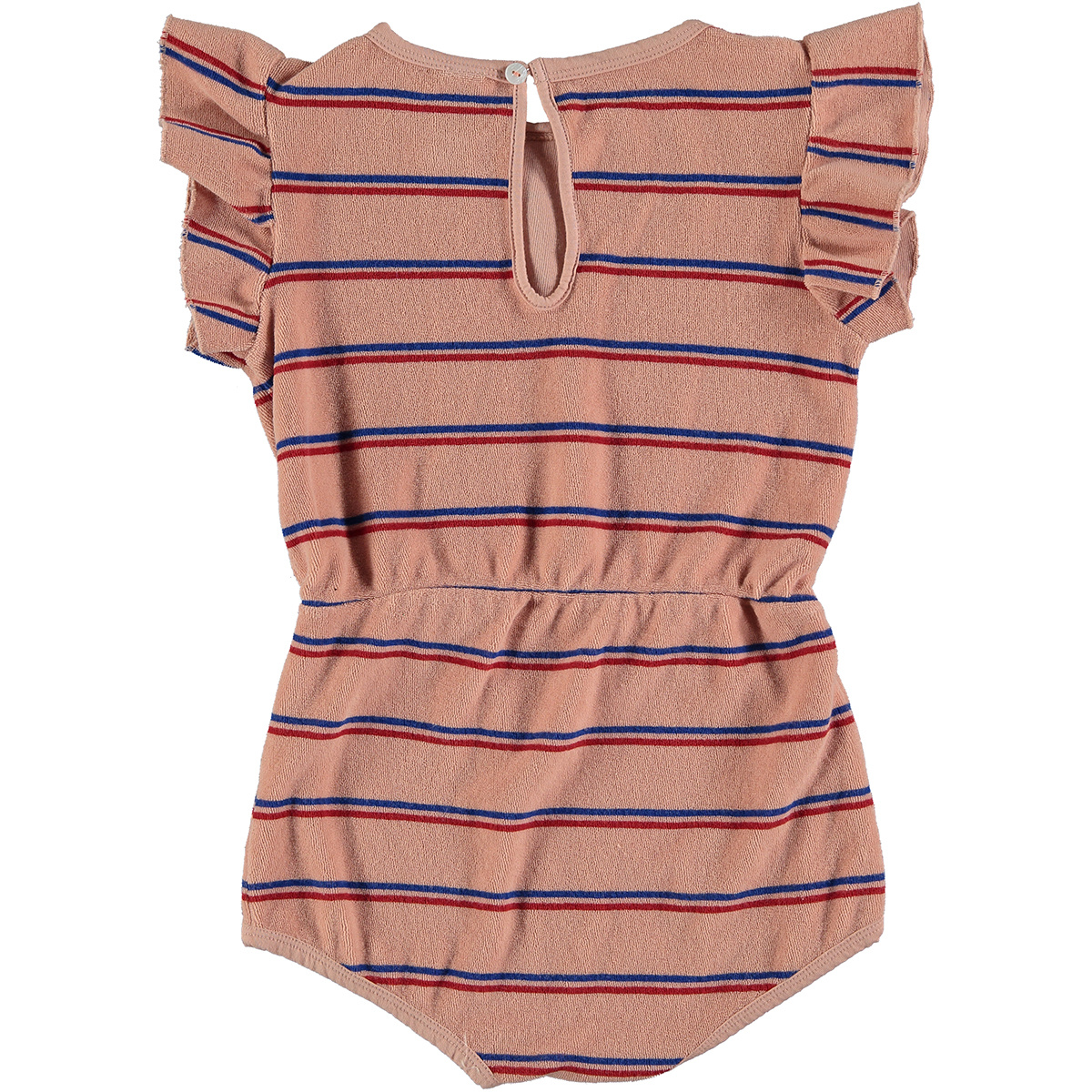 Playsuit baby Frill - Dusty Pink-2