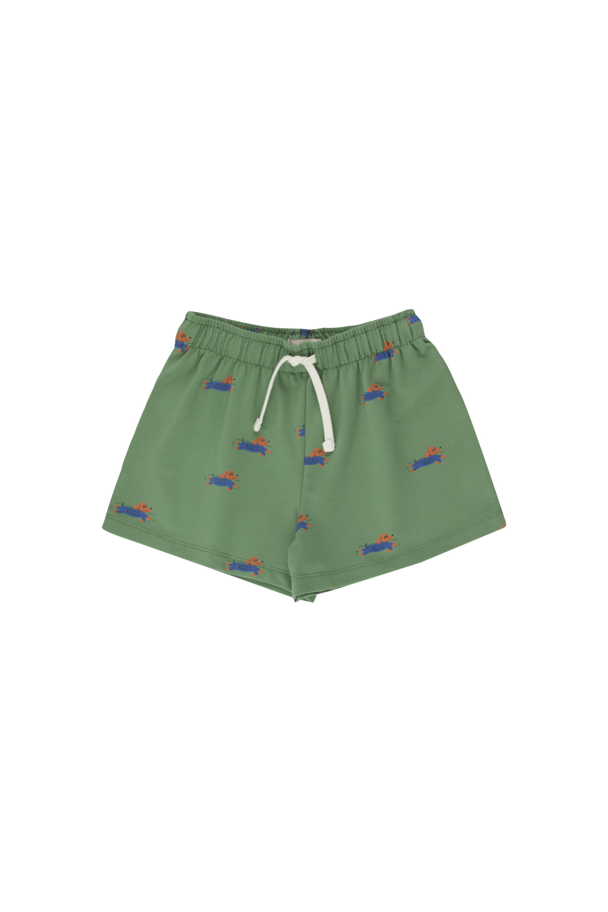 Doggy paddle short - Green / Iris Blue-1