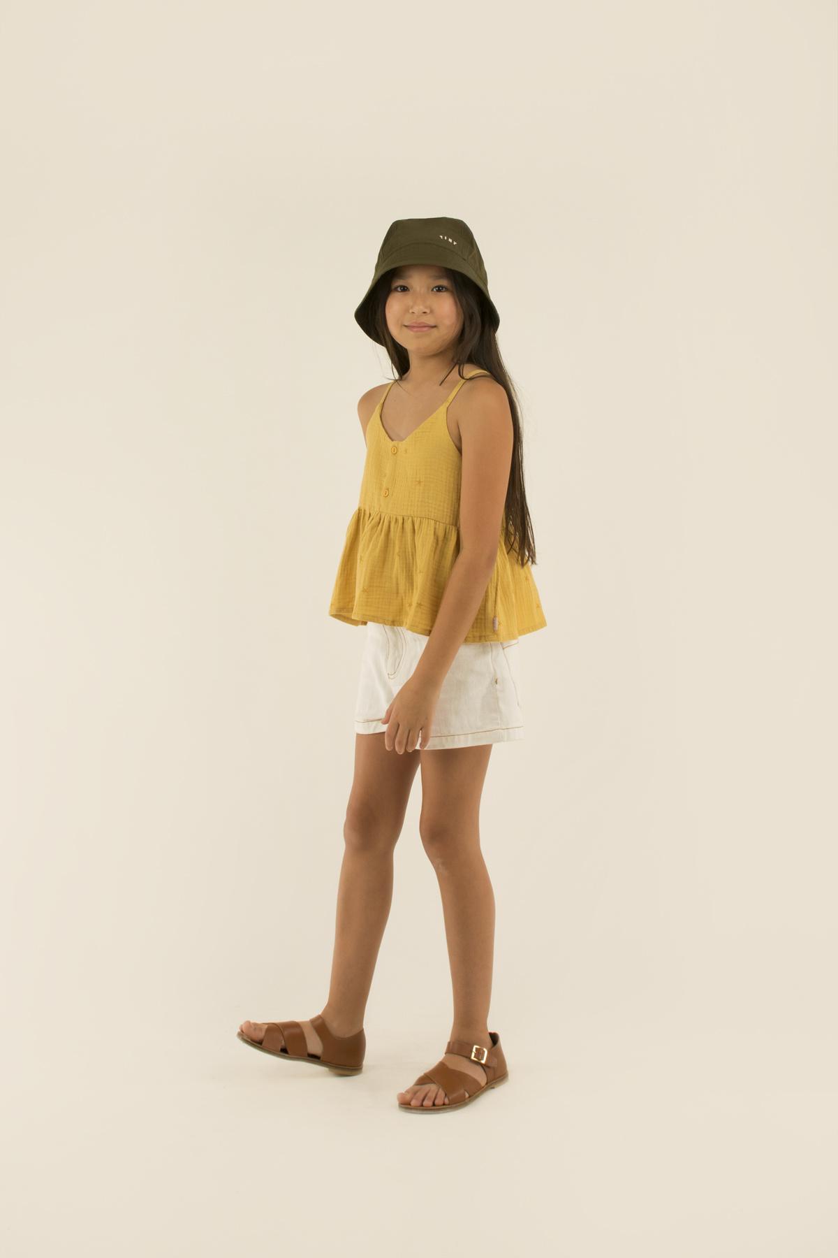 Starfish blouse - Sand / Honey-2