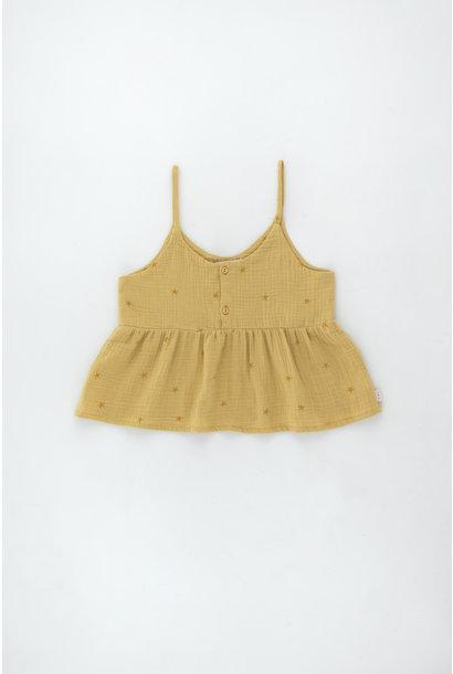 Starfish blouse - Sand / Honey
