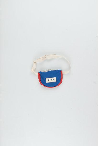 Tiny color block Fanny Bag - Iris Blue