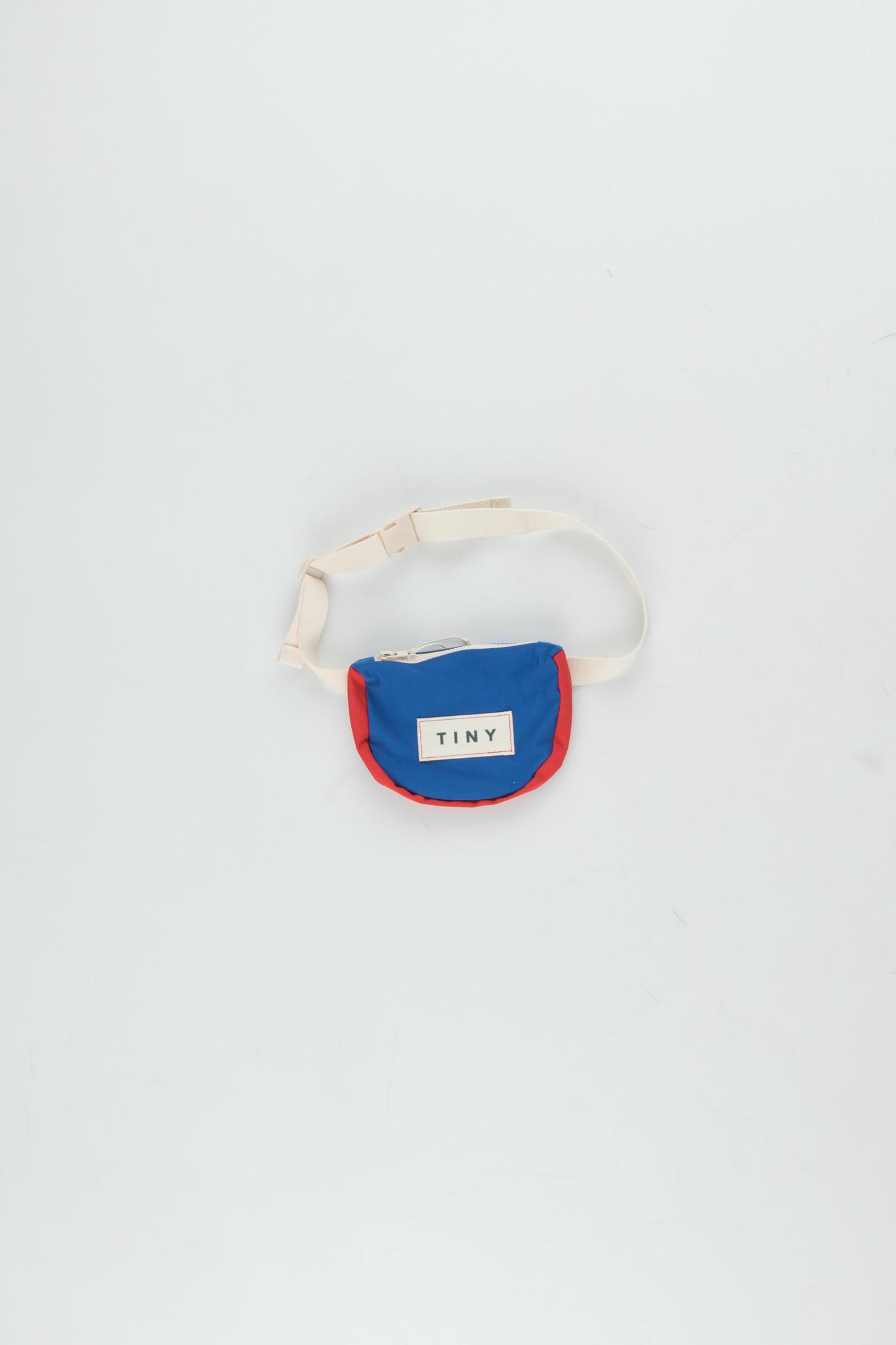 Tiny color block Fanny Bag - Iris Blue-1