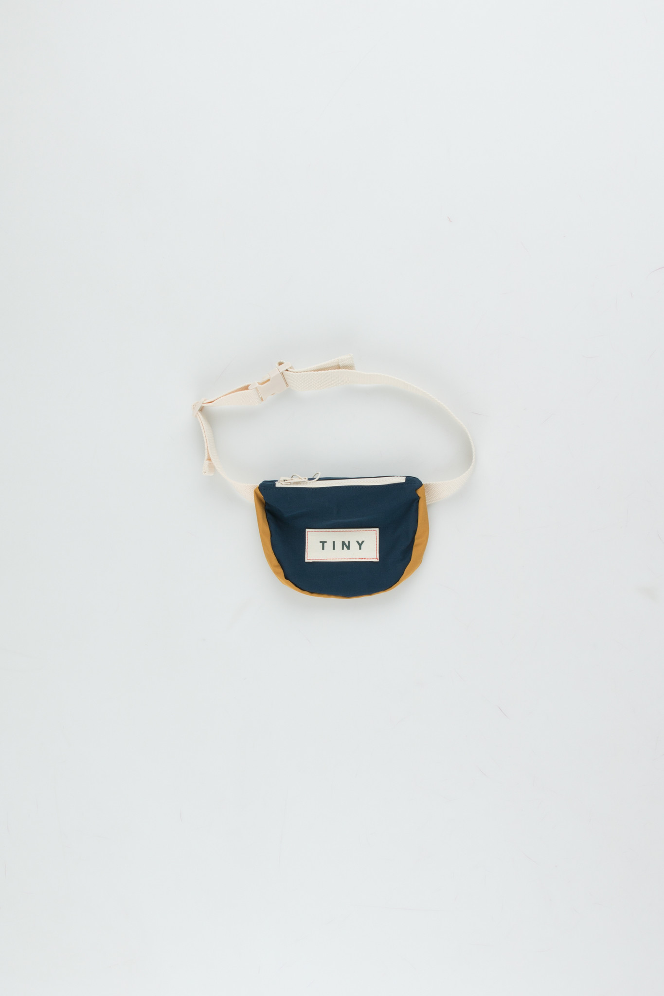 Tiny color block Fanny Bag - Ink Blue-1