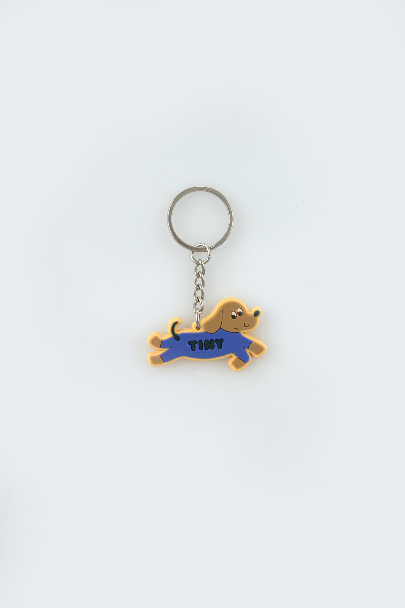 Doggy paddle key chain - Iris Blue-1