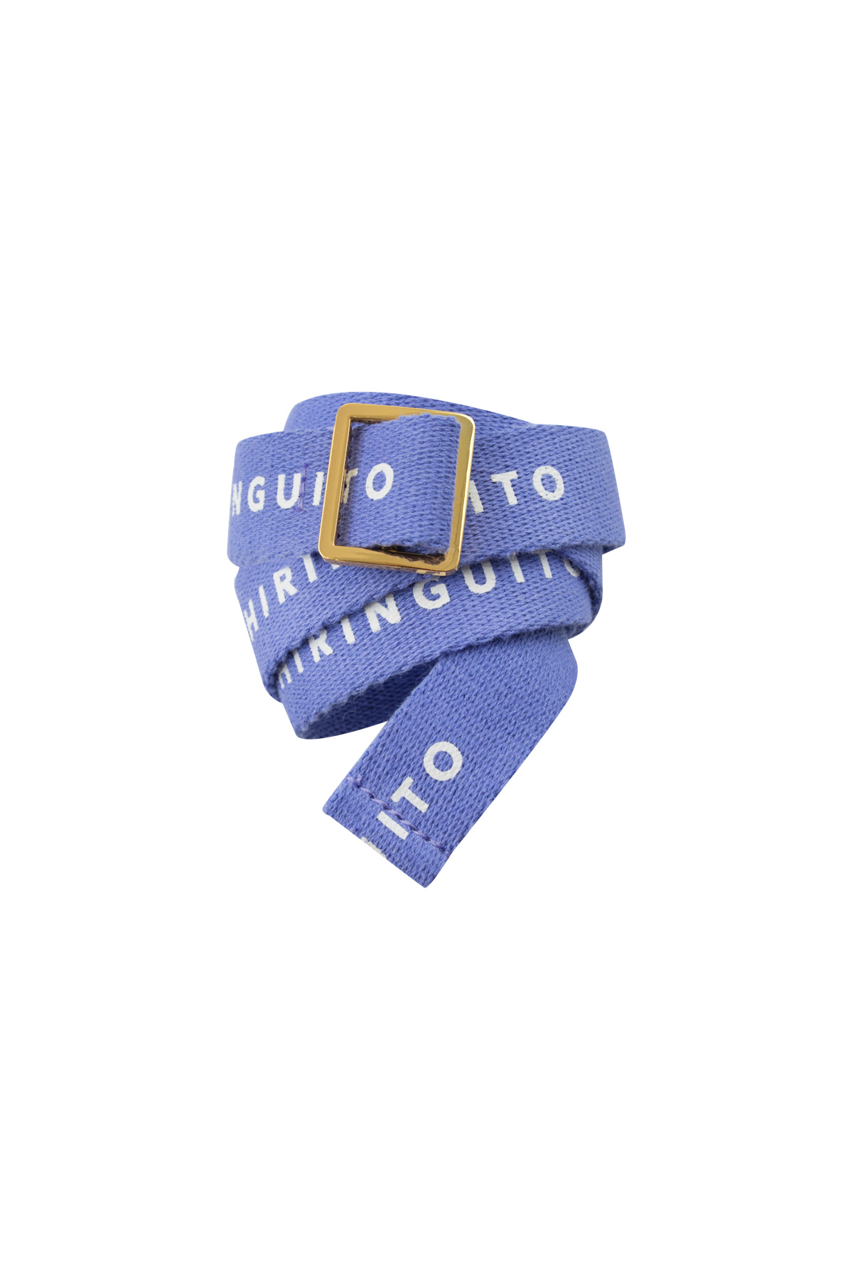 Tiny Chiringuito belt - Iris Blue / Off White-1
