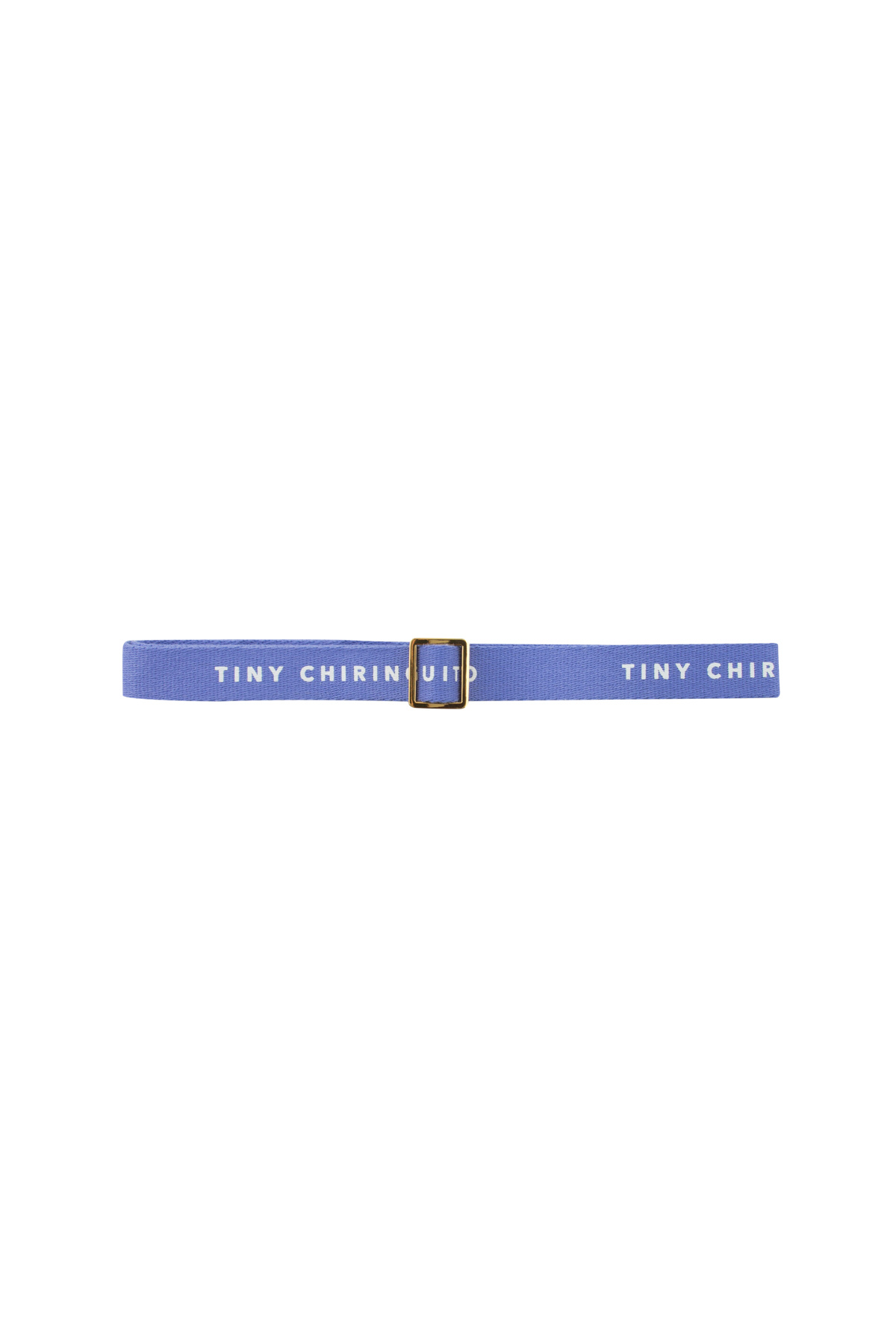 Tiny Chiringuito belt - Iris Blue / Off White-2