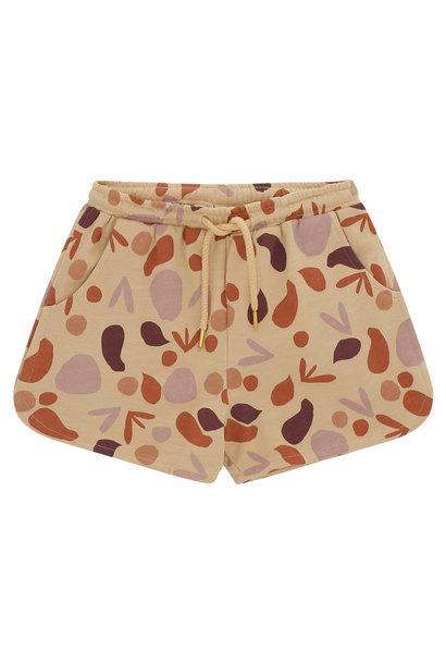Paris shorts - Beige shapes