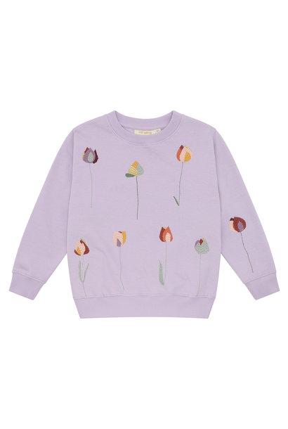 Baptiste sweatshirt - Lavender Frost